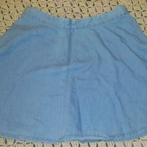 Corduroy Mini Skirt Forever 21 Blue